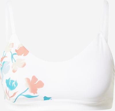 ADIDAS PERFORMANCE Biustonosz sportowy w kolorze turkusowy / koralowy / białym, Podgląd produktu
