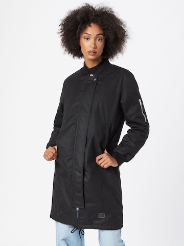 Brixtol Textiles Prechodný kabát - Čierna