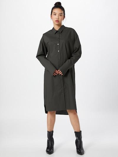Birgitte Herskind Kleid in dunkelgrün, Modelansicht