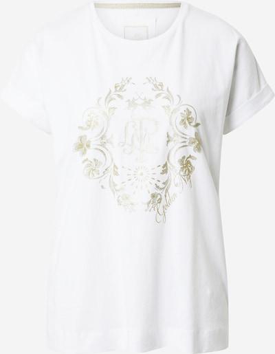 La Martina T-Shirt in gold / silber / weiß, Produktansicht