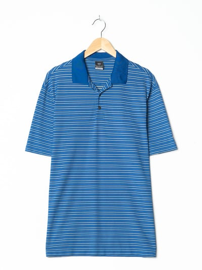 NIKE Polohemd in M/L in azur, Produktansicht