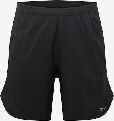Reebok Sport Παντελόνι φόρμας σε ανοικτό γκρι / μαύρο, Άποψη προϊόντος