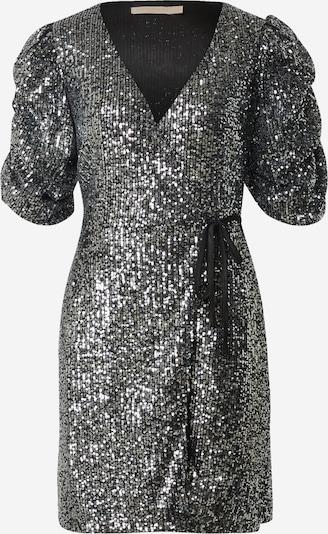 Skirt & Stiletto Jurk 'Lina' in de kleur Zwart / Zilver, Productweergave