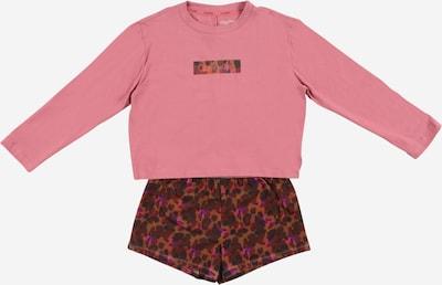 Pijamale Calvin Klein Underwear pe maro / lila / mov zmeură / roz / rosé, Vizualizare produs