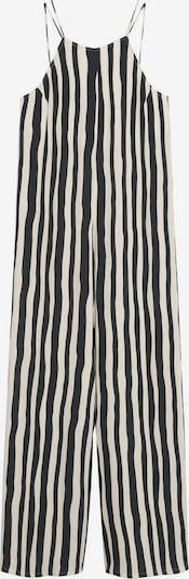 MANGO Jumpsuit 'CORSICA' in schwarz / weiß, Produktansicht
