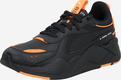 PUMA Baskets basses 'WINTERIZED' en orange / noir, Vue avec produit