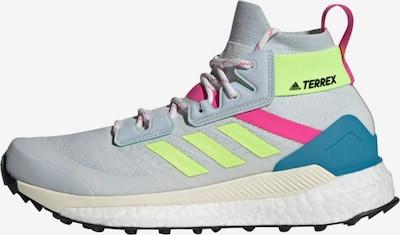 adidas Terrex Wanderschuh in blau / opal / neongrün / pink, Produktansicht