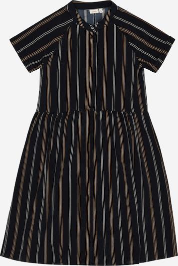 NAME IT Kleid 'Dera' in dunkelblau / goldgelb / weiß, Produktansicht