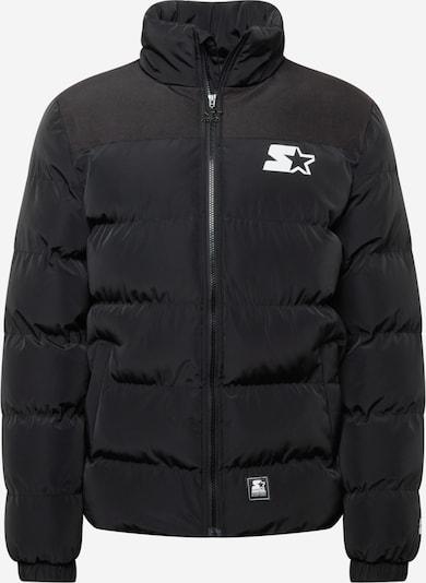 Starter Black Label Winter jacket in Black / White, Item view
