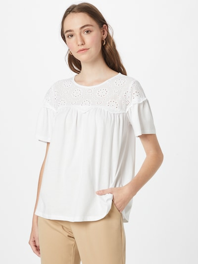 NEW LOOK Blouse 'BRODERIE YOKE' in White, View model