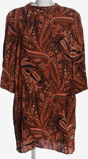 For H&M Long-Bluse in XXL in hellorange / schwarz / weiß, Produktansicht