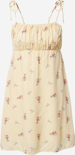 HOLLISTER Kleid in hellgelb / mischfarben, Produktansicht
