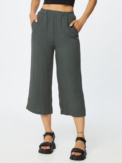 ZABAIONE Hose 'Joelle' in dunkelgrün, Modelansicht