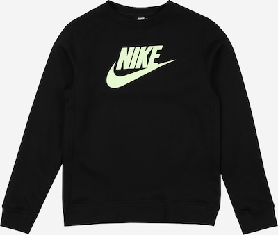 Nike Sportswear Sweatshirt 'FUTURA' in de kleur Pasteelgeel / Zwart, Productweergave