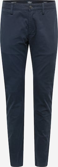 s.Oliver Chino trousers in blue, Item view
