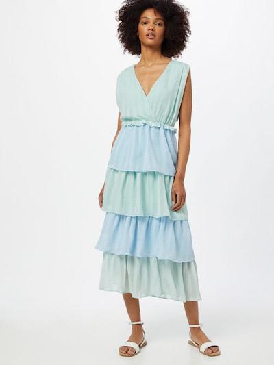 Rochie 'Juna' Love Copenhagen pe albastru deschis / verde mentă, Vizualizare model