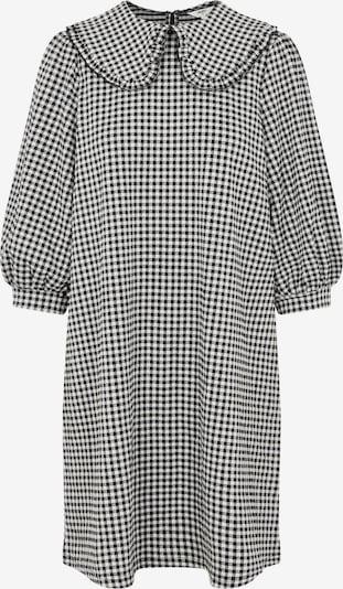 OBJECT Robe-chemise 'Riva' en noir / blanc, Vue avec produit