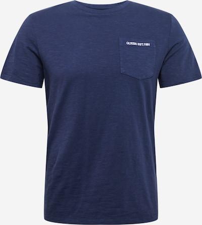 GUESS Majica   modra barva, Prikaz izdelka