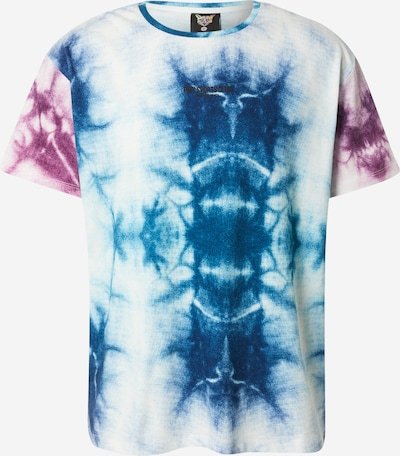 PARI T-Shirt 'SPORTS CLUB' en bleu / violet / blanc, Vue avec produit