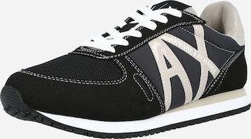 ARMANI EXCHANGE Sneakers in Black