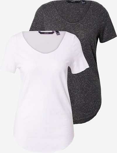 VERO MODA Shirt 'Lua' in black / white, Item view