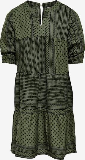 KIDS ONLY Kleid in grün / schwarz, Produktansicht