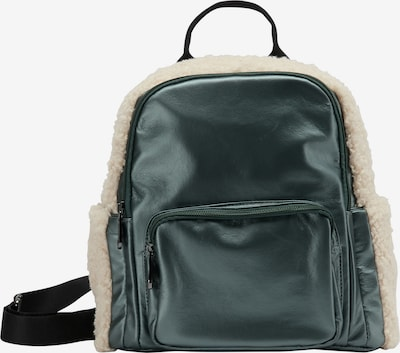 MYMO Backpack in Beige / Emerald, Item view