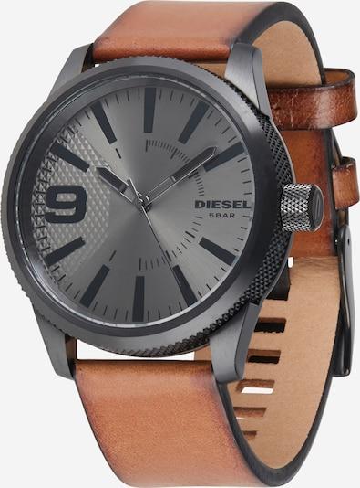 DIESEL Reloj analógico en marrón claro / negro, Vista del producto