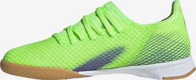 ADIDAS PERFORMANCE Chaussure de sport 'X Ghosted.3' en bleu cobalt / vert fluo, Vue avec produit
