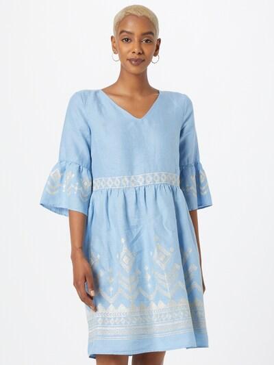 MORE & MORE Košilové šaty - světlemodrá / pudrová, Model/ka