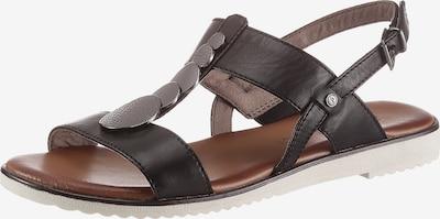 JANA Sandale in dunkelbraun, Produktansicht