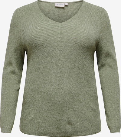ONLY Carmakoma Sweater 'Atija' in Olive, Item view