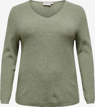 ONLY Carmakoma Sweater 'Atija' in olive, Item view