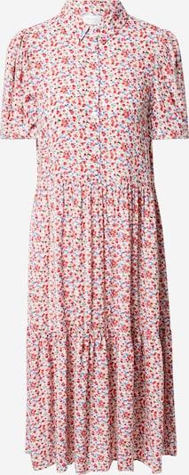 VILA Košulja haljina 'VIKATE' u sivkasto bež / svijetloplava / zelena / crvena / bijela, Pregled proizvoda