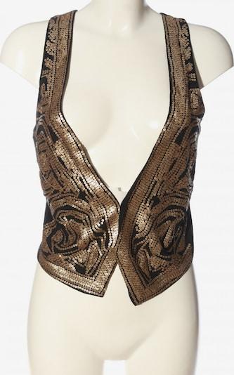H&M Strickweste in XS in braun / bronze, Produktansicht