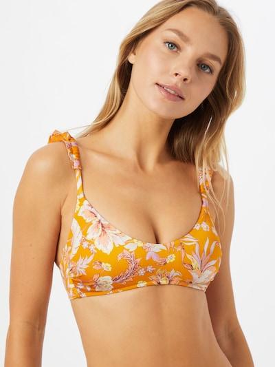 watercult Bikinitop in de kleur Goudgeel / Gemengde kleuren, Modelweergave