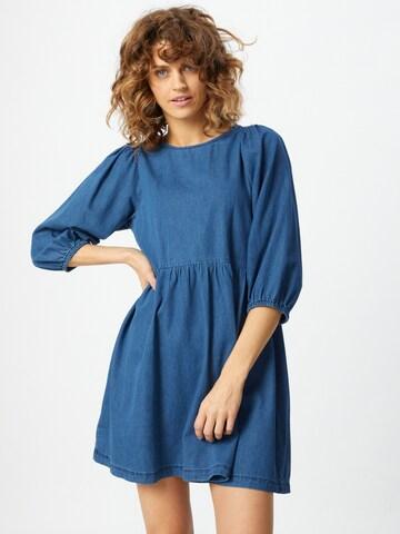 VERO MODA Kleid 'Rose' in Blau