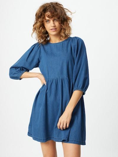 VERO MODA Robe 'Rose' en bleu denim, Vue avec modèle