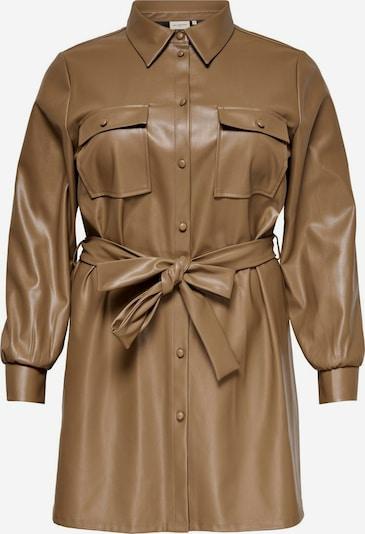 ONLY Carmakoma Blusenkleid in beige, Produktansicht