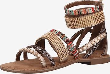 LAZAMANI Sandalen in Mischfarben