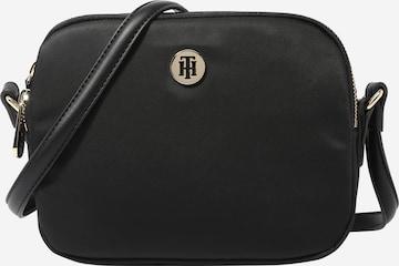 TOMMY HILFIGER Crossbody Bag 'Poppy' in Black