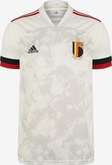 ADIDAS PERFORMANCE Trikot 'Belgien' in beige / gelb / rot / schwarz, Produktansicht