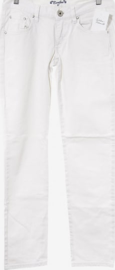 Bamboo Clothing Straight-Leg Jeans in 25-26 in weiß, Produktansicht