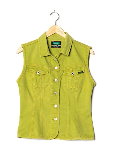 UNITED COLORS OF BENETTON Jeansweste in M in Grün