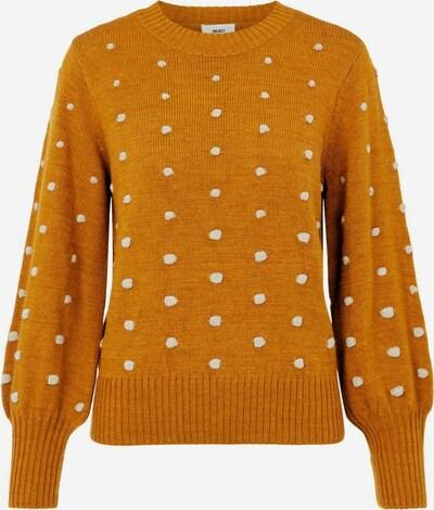 OBJECT Pullover in braun / weiß, Produktansicht