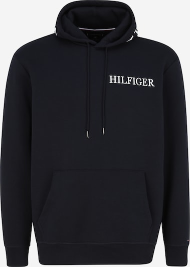 Tommy Hilfiger Big & Tall Sweatshirt in navy / weiß, Produktansicht