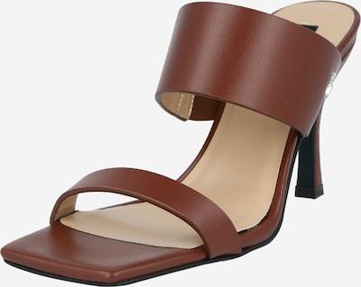 PATRIZIA PEPE Pantolette i brun, Produktvy