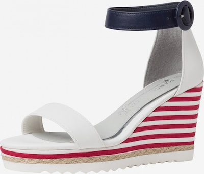 MARCO TOZZI by GUIDO MARIA KRETSCHMER Sandal in Night blue / Red / White, Item view