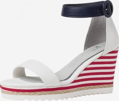 MARCO TOZZI by GUIDO MARIA KRETSCHMER Sandały w kolorze niebieska noc / czerwony / białym, Podgląd produktu