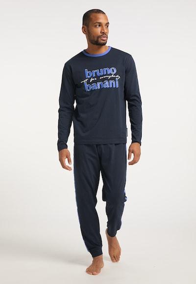BRUNO BANANI Pyjama in blau, Modelansicht